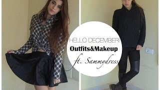 Hello December! Make up & Outfit ft. Sammydress