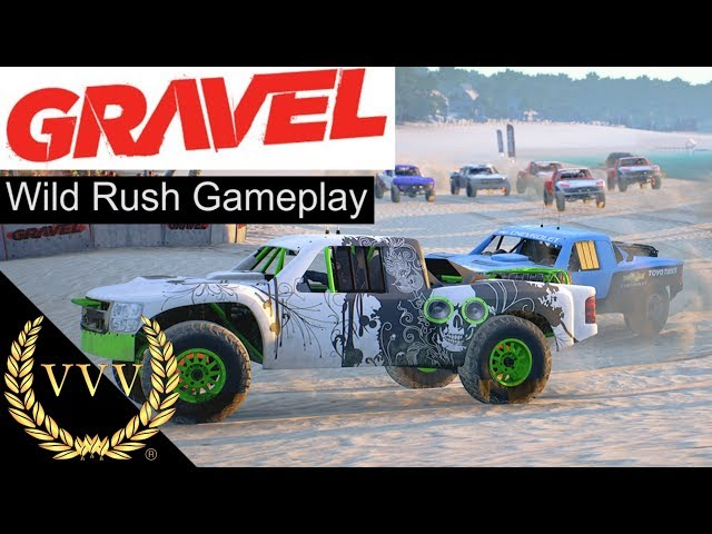GRAVEL Preview - Wild Rush Gameplay