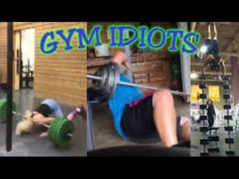 Gym Idiots - Bench Press, Snatch & Overhead Squat Fails