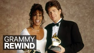 David Foster & Whitney Houston Win Record Of The Year At The 36th GRAMMY Awards | GRAMMY Rewind