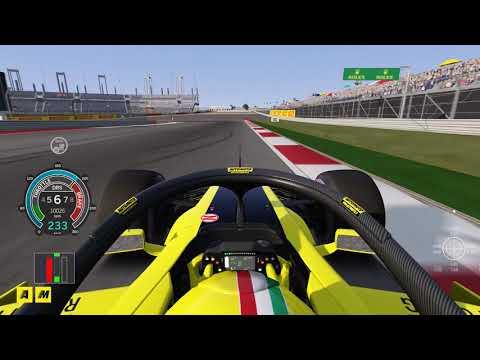 F1 GP USA 2018 | Austin al simulatore Assetto Corsa