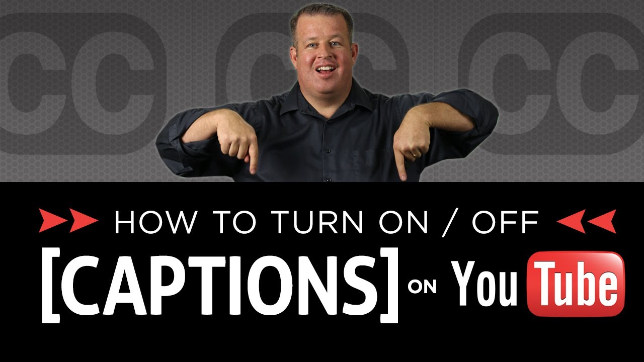 How to turn on off closed captions and subtitles on youtube videos how to turn on off closed captions and subtitles on youtube videos youtube ccuart Image collections