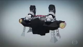 Esporte Espetacular vai até a França para conhecer a prancha voadora flyboard air