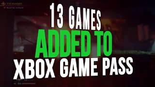 13 New Games Added To Xbox Game Pass In November 2019