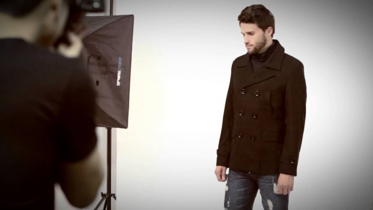 Doublju Winter Coats For Men Mens Double Pea Wool Half Trench Coat 868 Youtube