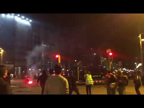 16-10-19 Aquesta Es L'actitud ! Gudaris Carregan I Fan Fugir A Les Forces D'ocupació, Gracies Jovent