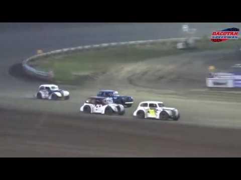 Dacotah Speedway INEX Legend Heats (9/28/18)