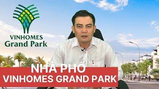 ✔️Nhà Phố Vinhomes Grand Park - Cập Nhật Mới Nhất Tháng 5 Năm 2020