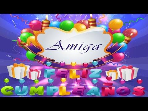 Frases de Feliz Cumpleaños Para una Amiga Maravillosa - Te Quiero Mucho