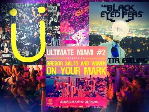 Where Are Ü Now Vs  I Gotta Feeling Vs  On Your Mark (David Guetta Mashup)[Lucho Riopa Remark]