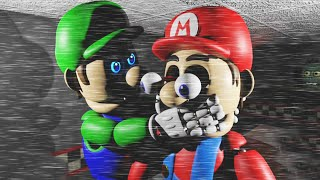 MARIO Y LUIGI SE HAN TRANSFORMADO EN ANIMATRONICOS!!  | Five Nights at Mario's 3D Remastered FNAF