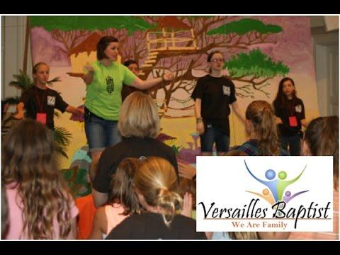 Versailles Baptist Children's Vacation Bible School Video