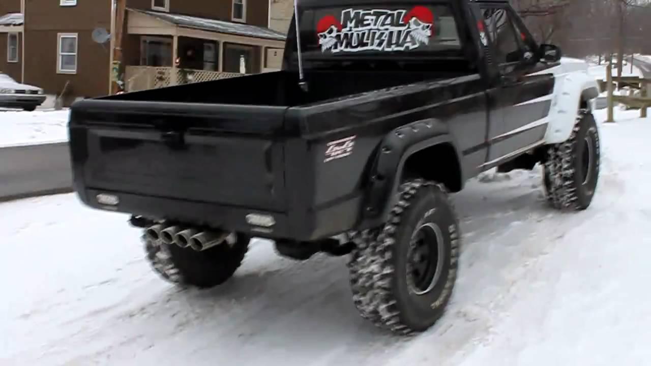 1987 Jeep Comanche - YouTube