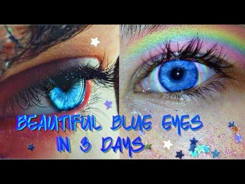 Beautiful Rare Blue Eyes Subliminal Affirmations Youtube