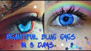 Beautiful Rare Blue Eyes - Subliminal Affirmations