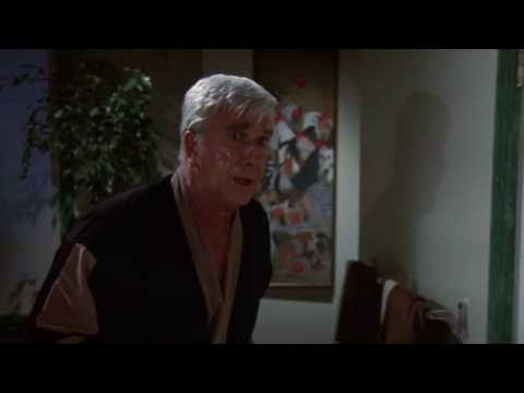 Leslie Nielsen losing his cool