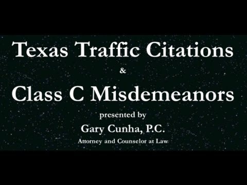 Texas Traffic Tickets