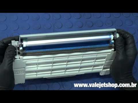 Vídeo Recarga Toner Lexmark C500 | X500N | X502N - Vìdeo Aula Valejet.com