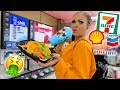 I only ate GAS STATION food for 24 HOURS! | Krazyrayray