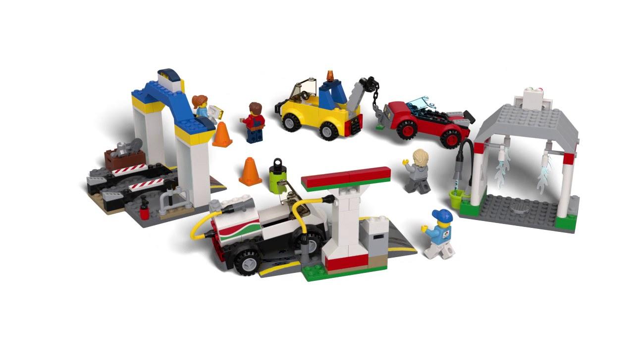 60232 LEGO City Garage Centre - YouTube