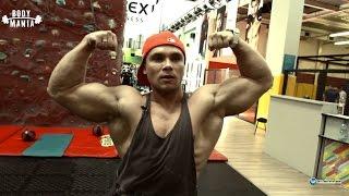 Спину шире и мощнее. Руслан Логинов, подготовка к соревнованиям.