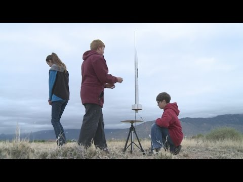 Local students compete for national rocketry title
