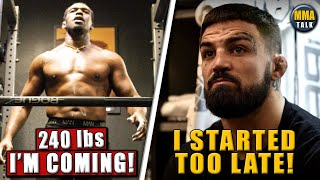 Jon Jones LOOKING HUGE ahead of heavyweight debut, Mike Perry explains missing weight, Tony-Oliveira