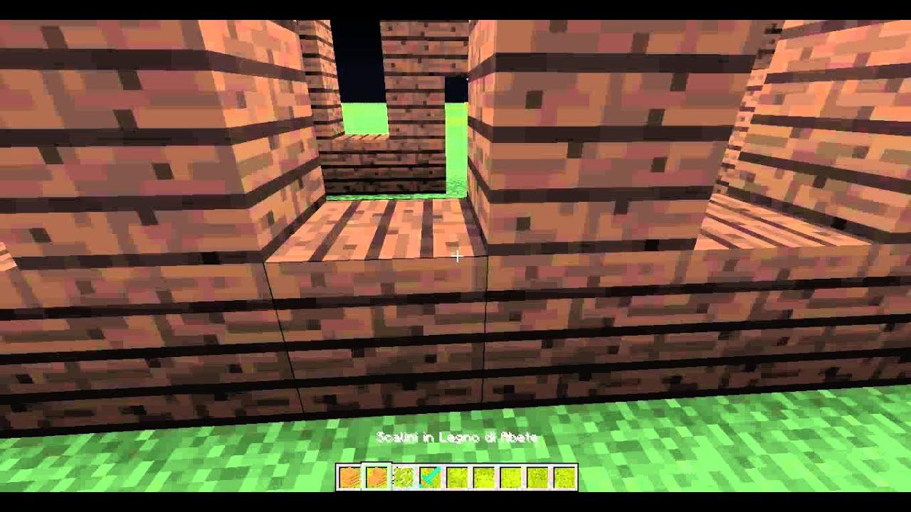 Minecraft tutorial come costruire una casa sul lago parte for Costruire una casa sul lago