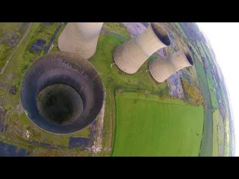 Loop The Tower - Abandoned Power Plant Cooling Towers - Willington Towers