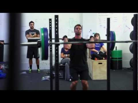 CrossFit - WOD 121204 Demo with Jeremy Kinnick and Rory McKernan