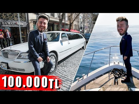 100.000 TL 'LİK BİR GÜN GEÇİRMEK