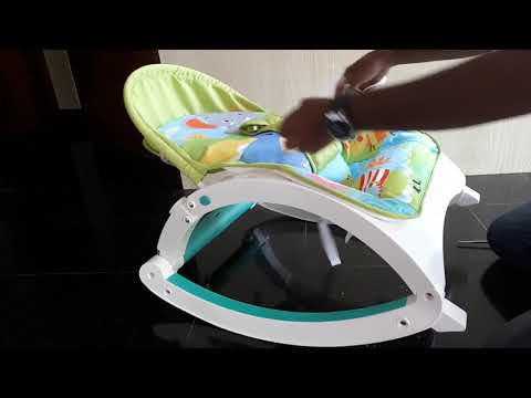 Webby Baby's Fiddle Diddle Bouncer/Rocker Unbox & Assembly