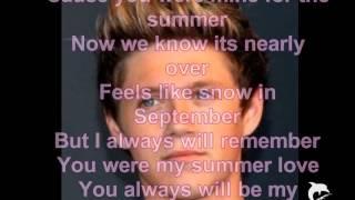 One Direction-Summer Love (Lyrics)
