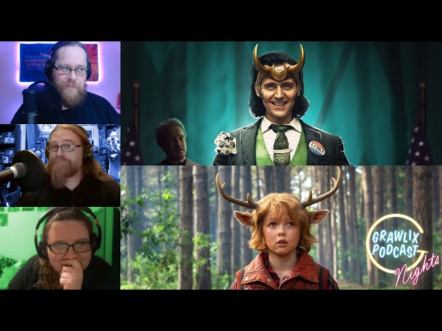 Loki & Sweet Tooth Reviews   Grawlix Podcast Live