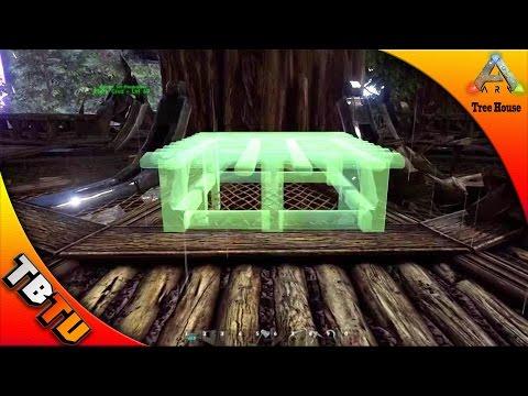 Ark Tree Platform Building Tutorial - Tips and Tricks - Ark Survival Evolved