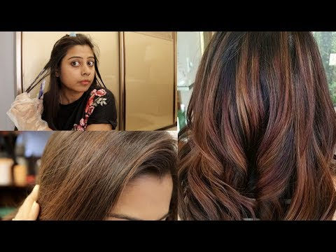 See the RESULT.... How to Highlights your hair at home || Preventing Naturally Soumali