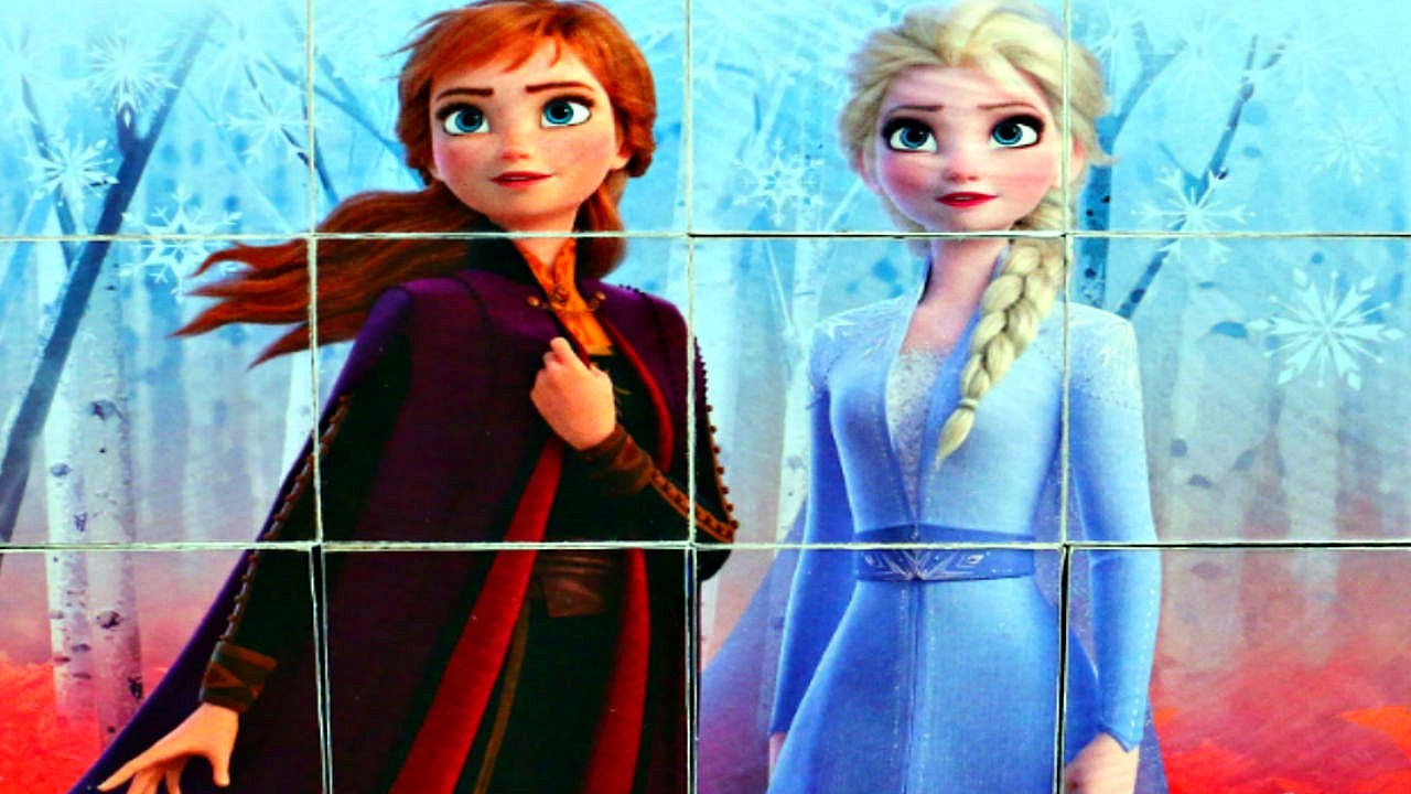 Холодное Сердце 2 - принцесса АННА и принцесса ЭЛЬЗА ...