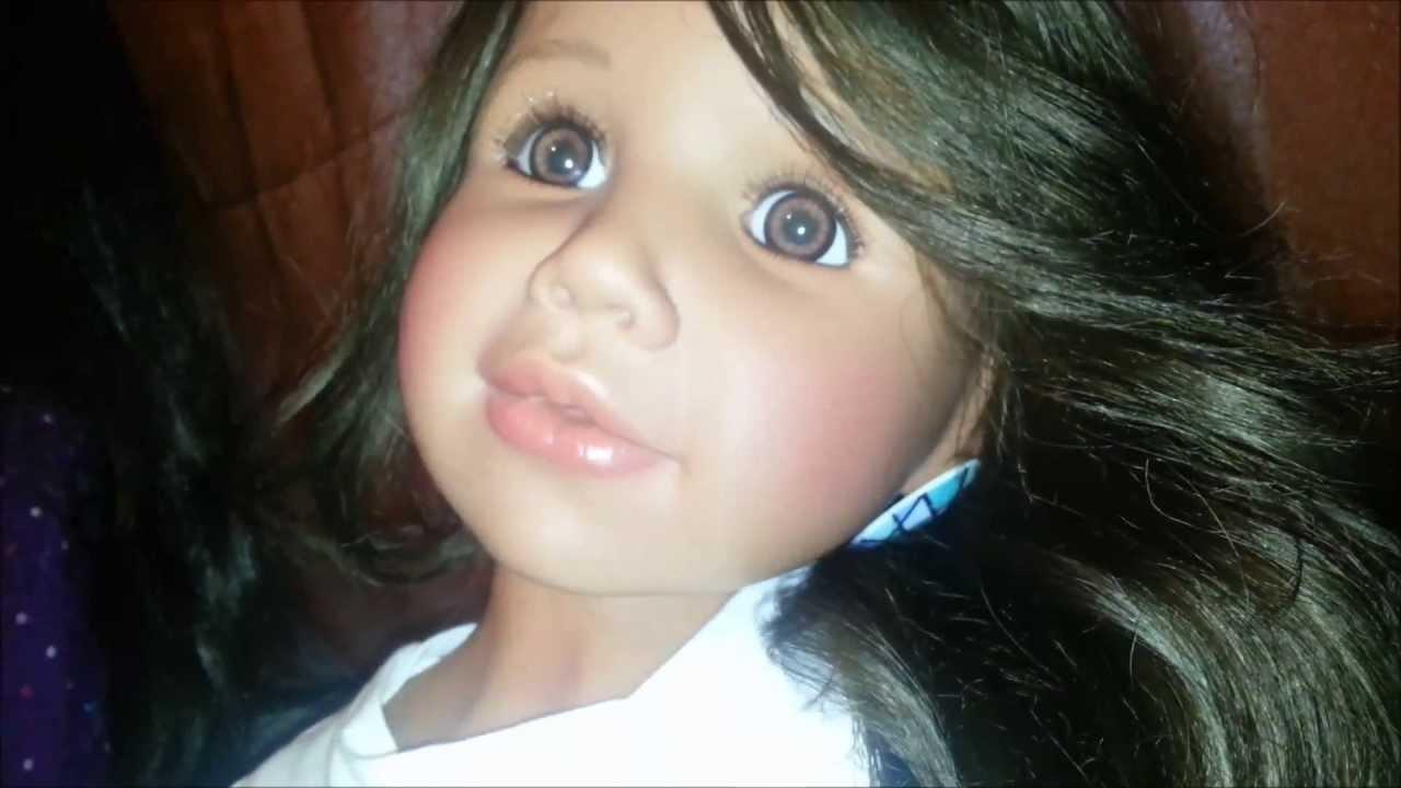 Masterpiece Dolls Meredith Aa Doll Monika Peter Leicht