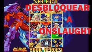 Como Desbloquear a ONSLAUGHT en Marvel VS Capcom