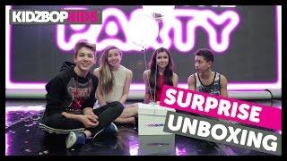 KIDZ BOP Greatest Hits! Surprise Unboxing with The KIDZ BOP Kids
