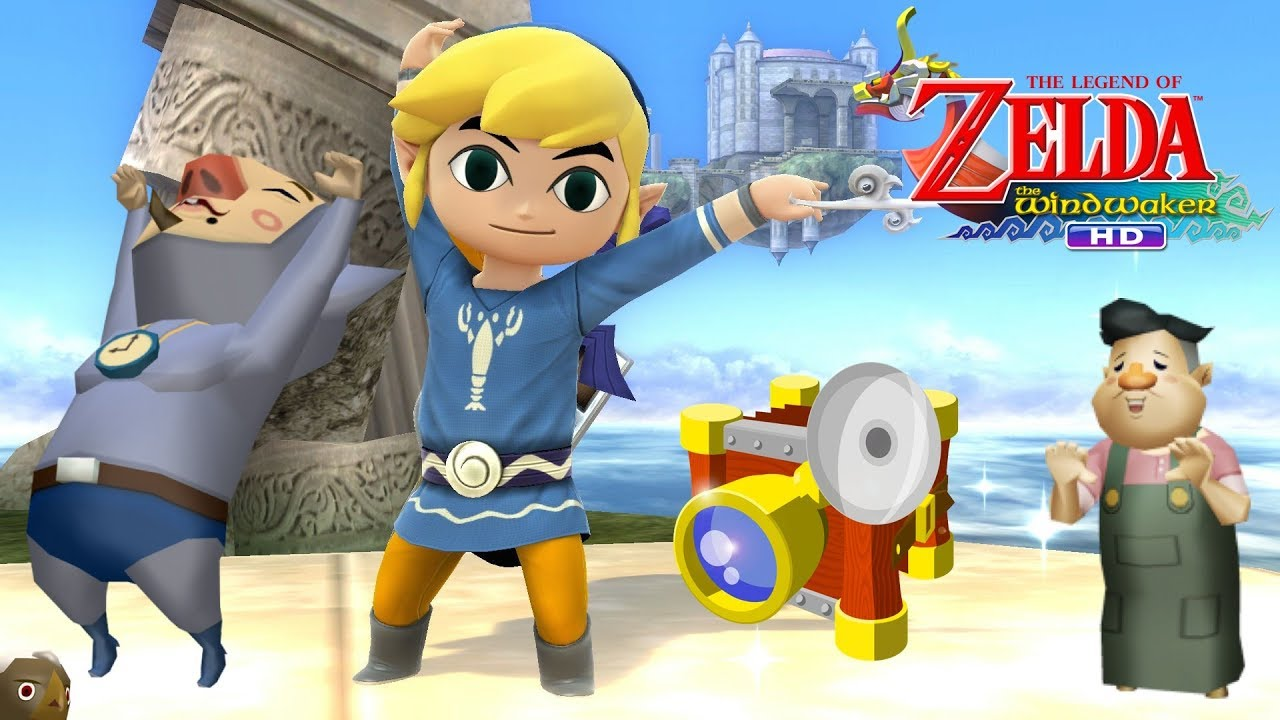 The Legend Of Zelda The Wind Waker Hd Knuckle And The Golden