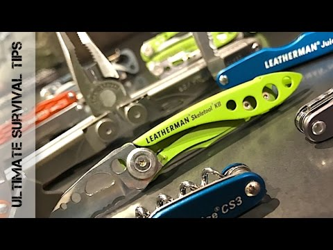 new!-5-leatherman-multi-tool-/-knives---new-swiss-army-knife?-shot-show-2017