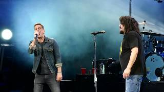 Counting Crows - Rain King (feat. Rob Thomas) - 9/8/17 - Xfinity Center