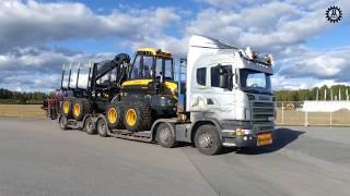 Video Loading Ponsse Buffalo on a Scania Dunderbygge  at load up north 2017 download MP3, 3GP, MP4, WEBM, AVI, FLV November 2017