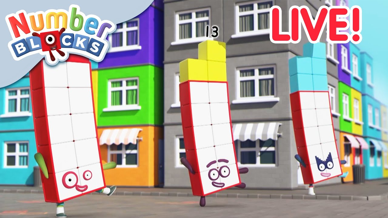 Download 🔴 Numberblocks | Season 5 LIVE | BRAND NEW EPISODES | Learn to Count