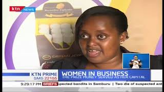 Terry Wangeci won an award and used prize money for Skincare enterprise | Women  in Business