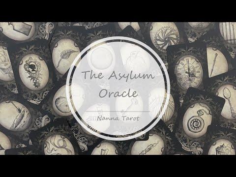 開箱  宇宙庇護神諭卡 • The Asylum Oracle // Nanna Tarot