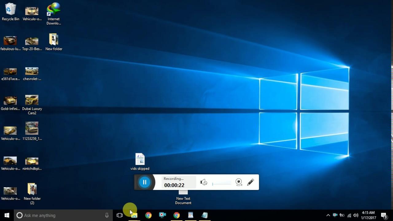 Windows 10 Not Showing Desktop - Quick Fix - YouTube