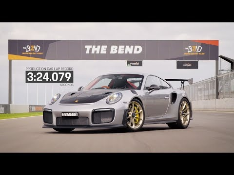 Porsche 911 GT2 RS sets production car lap record at The Bend Motorsport Park