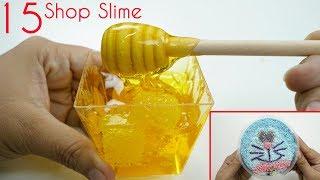 Doraemon & Mật Ong Slime | Chơi Thử 15 Loại Slime Của Những Shop Chưa Nổi Tiếng